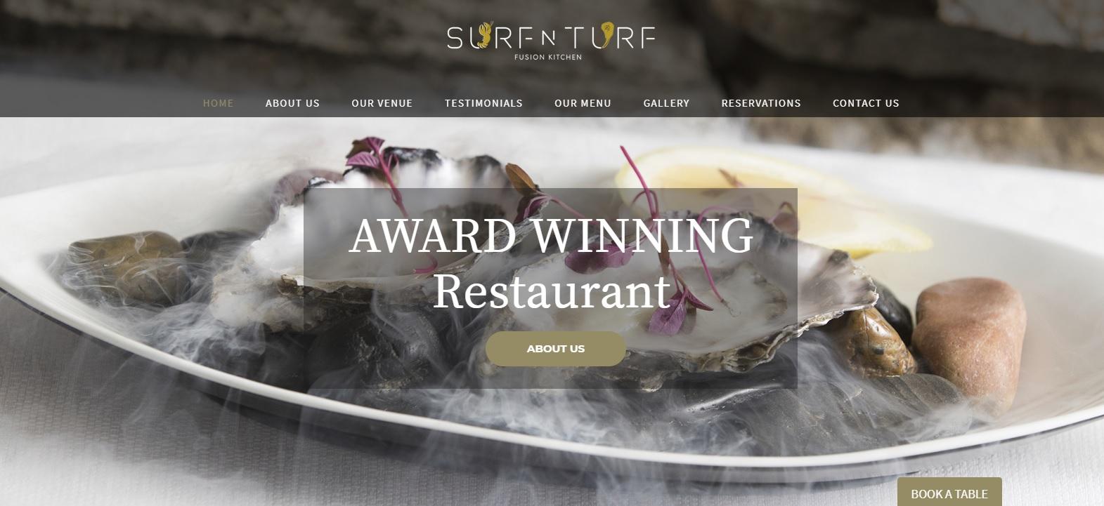 surf n turf new website