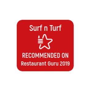 Surf N Turf Recommended on Restaurant Guru 2019